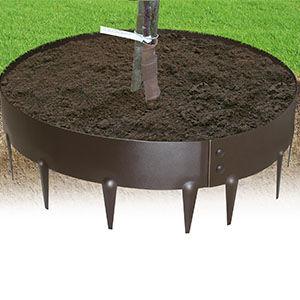 Borde de acero circular everedge projar for Borduras de jardin baratas