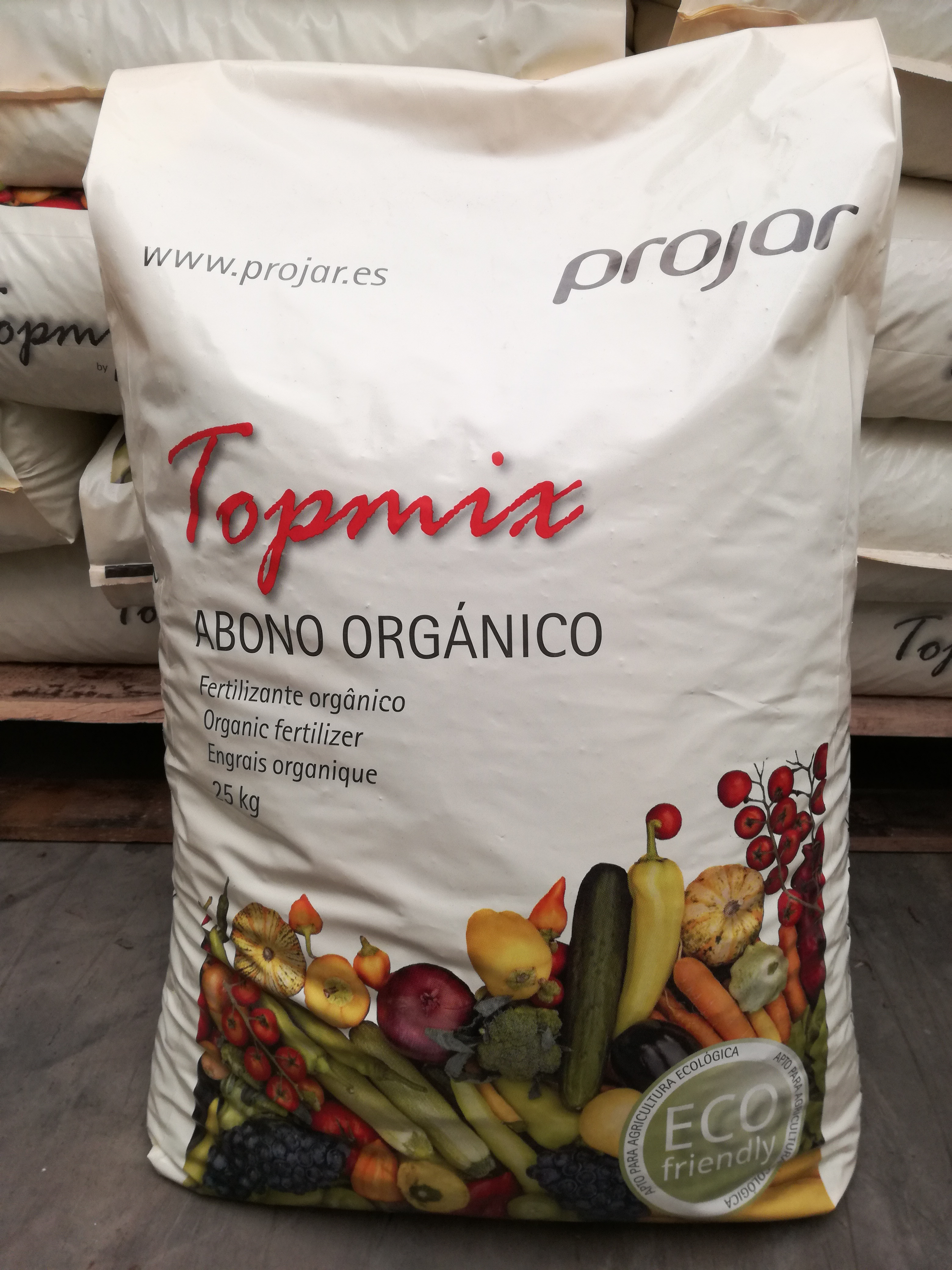 fertilizante orgánico topmix